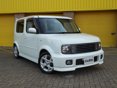 NISSAN CUBE 1.4 EX WITH AERO PACKAGE